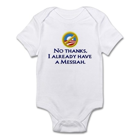 Already have a Messiah Infant Bodysuit