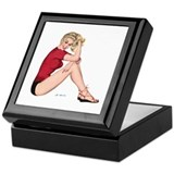Sweater Girl Keepsake Box