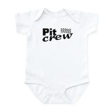 Pit Crew Racing Flag Infant Bodysuit
