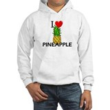 I Love Pineapple Jumper Hoody