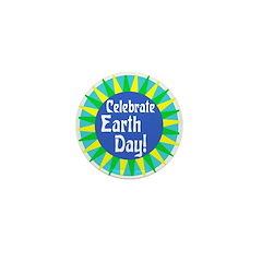 """Celebrate Earth Day 1"""" Mini Button"""