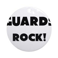 Guards ROCK Ornament (Round)