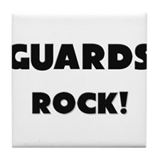 Guards ROCK Tile Coaster