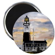 "Montauk Point lighthouse New 2.25"" Magnet (100 pac"