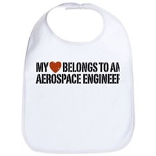 My Heart Belongs to an Aerospace Engineer Bib