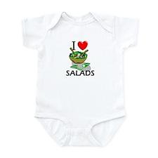 I Love Salads Infant Bodysuit