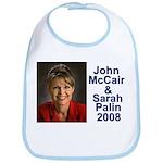 Sarah Palin Picture McCain Palin 08 Bib