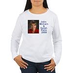 Sarah Palin Picture McCain Palin 08 Women's Long S