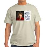 Sarah Palin Picture McCain Palin 08 Light T-Shirt