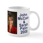 Sarah Palin Picture McCain Palin 08 Mug