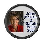Sarah Palin Picture McCain Palin 08 Large Wall Clo
