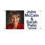 Sarah Palin Picture McCain Palin 08 Banner