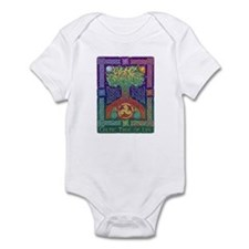 Celtic Tree Of Life Infant Bodysuit
