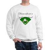 Diamonds are a girl's best fr Jumper