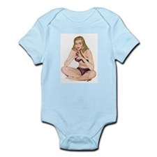 Polka Dot Girl Infant Creeper