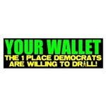 Your Wallet Bumper Sticker