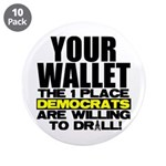 "Your Wallet 3.5"" Button (10 pack)"