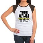Your Wallet Women's Cap Sleeve T-Shirt