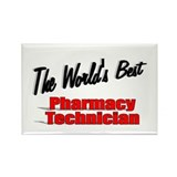 &quot;The World's Best Pharmacy Technician&quot; Rectangle M