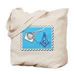 Stamp Collecting Mason Tote Bag