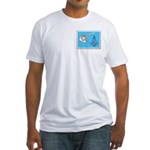 Stamp Collecting Mason Fitted T-Shirt