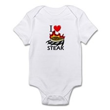 I Love Steak Infant Bodysuit
