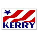 John Kerry (Blue Star Bumper Sticker)