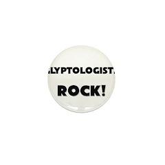 Glyptologists ROCK Mini Button (10 pack)