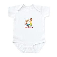 Cute Felize navidad Infant Bodysuit