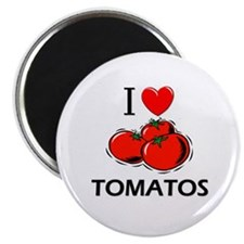 "I Love Tomatos 2.25"" Magnet (10 pack)"