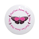 Breast Cancer Awareness Month 3.3 Ornament (Round)