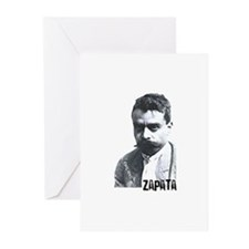 Emiliano Zapata - Portrait Greeting Cards (Pk of 2