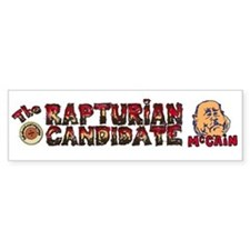Rapturian Candidate Car Sticker