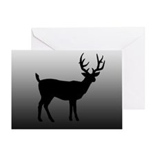 Buck Sillouette - Greeting Card