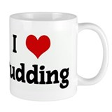 I Love Pudding Small Mug