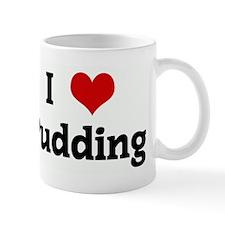 I Love Pudding Small Mug