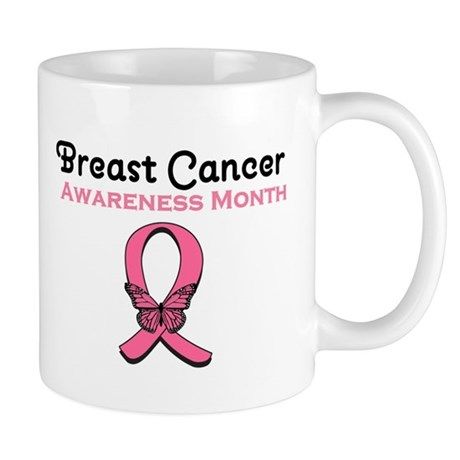 Breast Cancer Awareness Month Mug