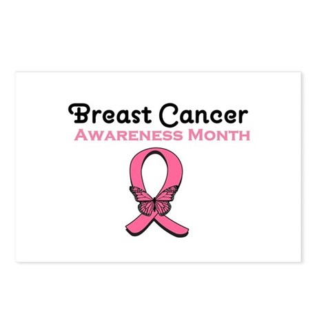 Breast Cancer Awareness Month Postcards (Package o