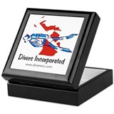 Divers Incorporated Keepsake Box