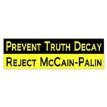 Prevent Truth Decay, Reject McCain-Palin