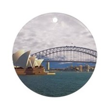Sydney Harbour Bridge Ornament (Round)