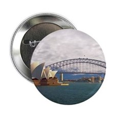 "Sydney Harbour Bridge 2.25"" Button"