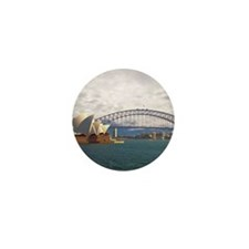 Sydney Harbour Bridge Mini Button (10 pack)