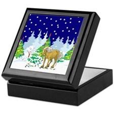 Christmas Lights Belgian Keepsake Box