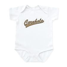 Cornhole Script Infant Bodysuit