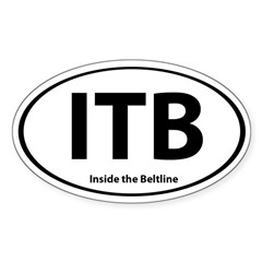 Coveted ITB Oval Sticker