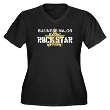 Business Major Rock Star by Night Women's Plus Siz