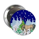 "Christmas Lights Andalusian 2.25"" Button"