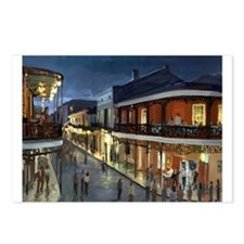 Funny Bourbon street Postcards (Package of 8)