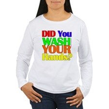 Washed Hands? (Colours) T-Shirt